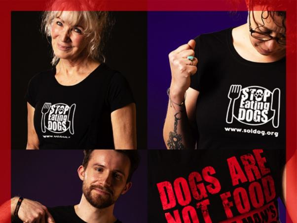 BUY YOUR STOP EATING DOGS T SHIRT NOW